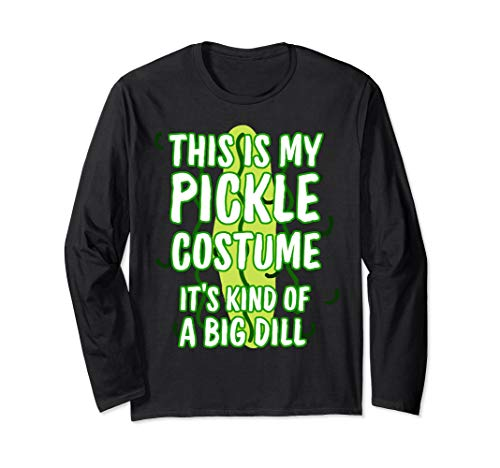 Dies ist meine Gurke Kostüm Halloween Essen Dill Langarmshirt