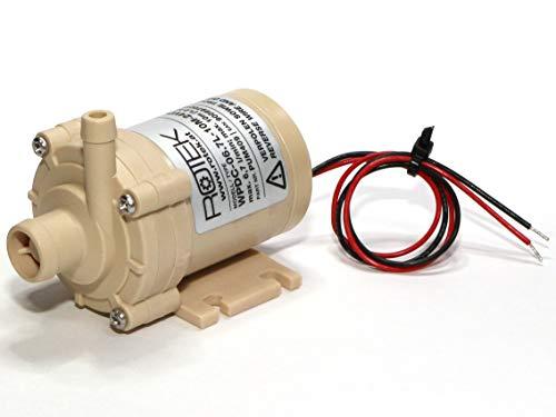 Lebensmittelechte Mini-Kreiselpumpe mit bürstenlosem Gleichstrommotor, Gehäuse:A01VP, 24VDC, 6,7l/min oder 10mWs