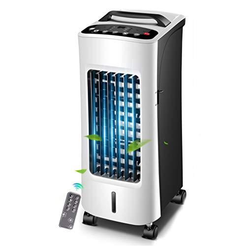 Tesite Draagbare mobiele airconditioner, ventilator, koelen en verwarmen, met afstandsbediening, waterreservoir, 12 uur timer, voor alle soorten kamers