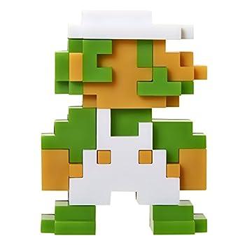 World of Nintendo 2.5  8 Bit Luigi Action Figure