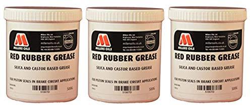 Millers Oils Gummifett rot für Bremskolbendichtungen 1,5kg