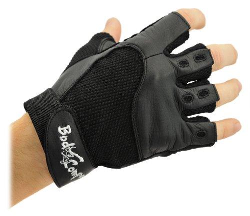 Bad Company I Fitness Handschuhe Elegant Snake I Trainingshandschuhe aus Leder I Inkl. Klettverschlüssen I Gr. L