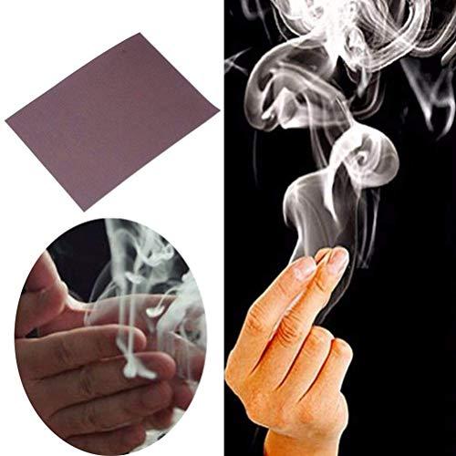 1 Stück Zauberartikel Papier, Trick Finger's Smoke Stage Stuffs Fantasy Requisiten Zauber Trick Überraschung Streich