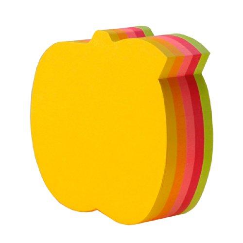 ポストイット 付箋 カットキューブ アップル 5色 72×72mm 225枚×1パッド CC-36