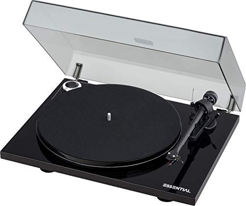 """Pro-Ject Essential III, Audiophiler """"Best Buy"""" Plattenspieler (Schwarz)"""