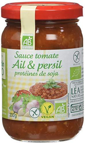 Jardin BiO étic Sauce Tomate pour Pizza Pâtes ou Riz 200g lot de 6 (200g x6 = 1200g)