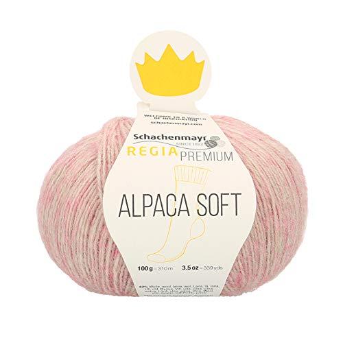Schachenmayr REGIA Handstrickgarne Premium Alpaca Soft, 100G Rosé