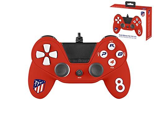 Mando con cable Pro4 controller para consola PS4 / Slim/ Pr - PC -PS3 - Accesorios de videojuegos Atlético de Madrid