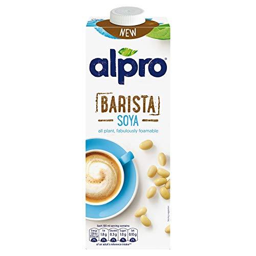 Alpro Barista Soya 1L - rein pflanzlich - fantastisch aufschäumbar (1er Pack)