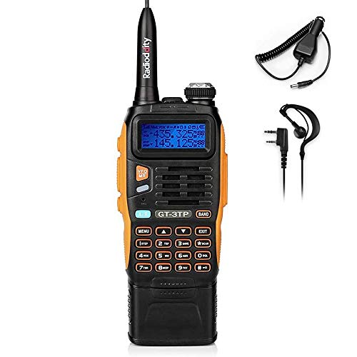 BAOFENG GT-3TP MarkIII 3800mAh Battery Tri-power Ham Radio, Dual Band Two-Way Radio 8W/4W/1W , Upgraded Chip, High Gain Antenna and Car Charger. Buy it now for 48.99