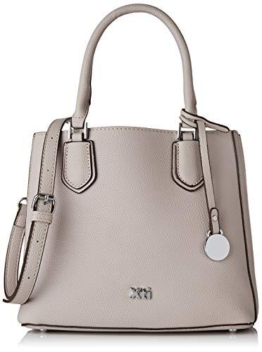 XTI 86253.0, Shopper para Mujer, Blanco (Hielo), 25x21x12 cm (W x H x L)