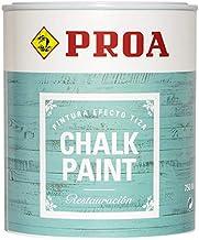 CHALK PAINT PINTURA PARA MUEBLES EFECTO TIZA PROA BLANCO CHALK 750 ml