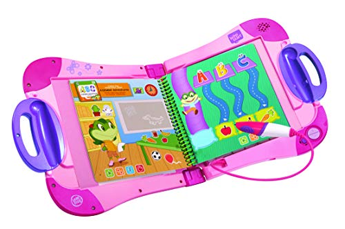 LeapFrog LeapStart Electronic Book, Educational and Interactive Playbook Toy for Toddler and Pre School Boys & Girls 2, 3, 4, 5, 6, 7 Year Olds, Pink