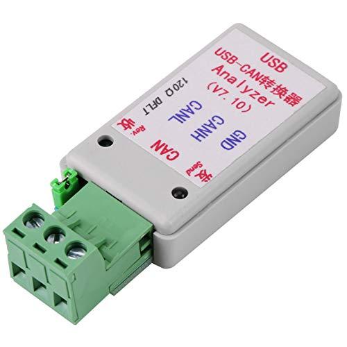 Convertidor de bus USB a CAN, Adaptador convertidor de bus USB a CAN con soporte de cable USB, XP / WIN7 / WIN8, Conexión de herramientas de dispositivo
