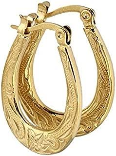 Hawaiian Hoop Earrings by Austaras - Wear Delicate Beauty