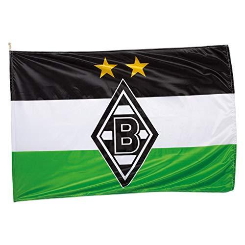 Borussia Mönchengladbach Hissfahne Fahne 150x100cm (one Size, Logo)