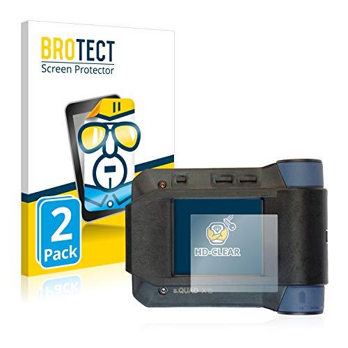 BROTECT Schutzfolie kompatibel mit Swissphone s.Quad X15 (2 Stück) klare Displayschutz-Folie