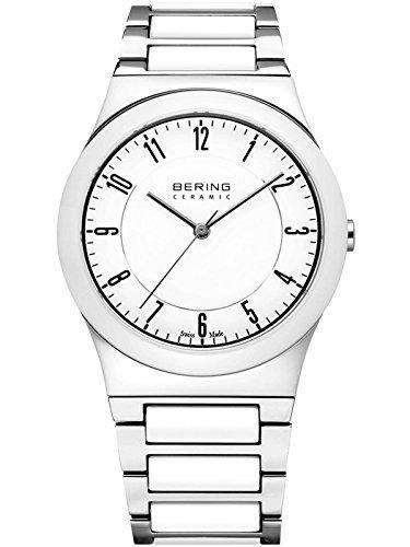 Bering 32235-000 - Reloj para mujer, de cristal, zafiro y cerámica, fabricado en Suiza