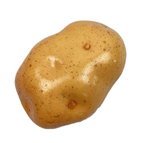 fgyhtyjuu Künstliche Kartoffel Simulation Schaum Gemüse Fotografie Sketch Filming Prop Hauptdekor-Fälschungs-Kartoffel