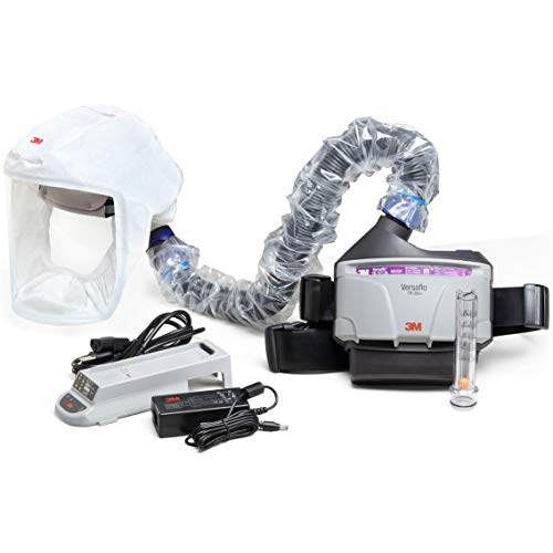 3M PAPR Respirator, Versaflo Powered Air Purifying Respirator Kit, TR-300N+ HKL, Pharmaceutical, Healthcare, Small-Medium