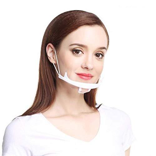 10 Stück gesichtsvisier Mund Visier Gesichtsschutz aus Kunststoff Gesichtsschild maske Schutzschild Schutzvisier Visier