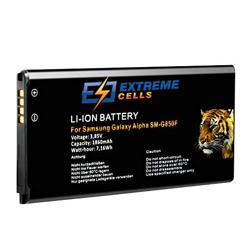 Extremecells Akku für Samsung Galaxy Alpha SM-G850F EB-BG850BBE Batterie Accu Battery