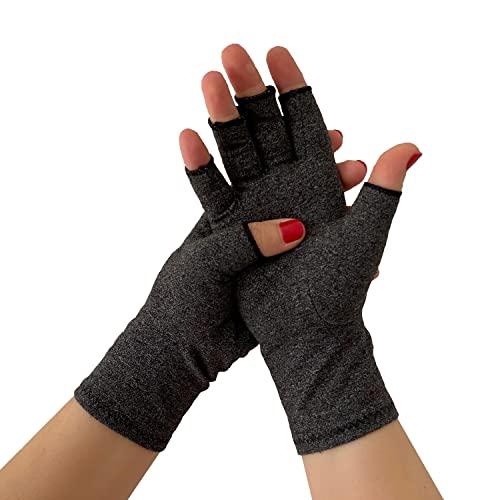 Guantes de Compresión Artritis (Tunel Carpiano) para Mujer y Hombre, Guantes Artrosis,...