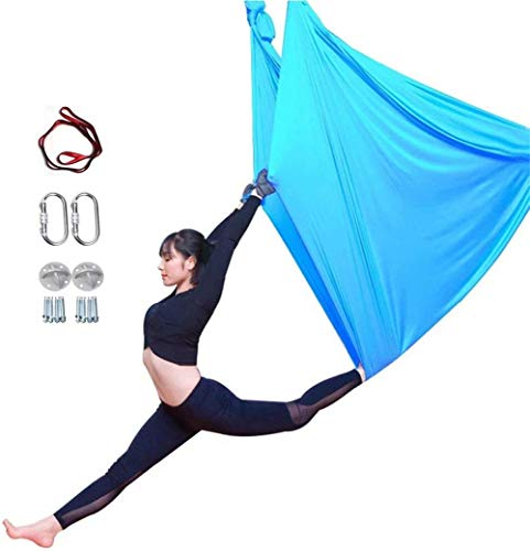 Review Of YAOSHUYANG Aerial Yoga Hammock, Aerial Yoga Swing Set, Ultra Strong Antigravity Yoga Hammo...