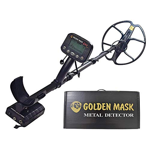 Buy Discount golden mask ONE-24 Pro Digital Metal Detector | Metal Detection and Treasure Finder | D...
