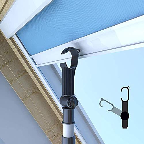 Classic Roof Blinds CRB Teleskop-Bedienungsstange, Teleskopstange, Fensterstange zum Öffnen und Schließen von VELUX® Dachfenster UND Jalousien 1.6 – 2.0 m