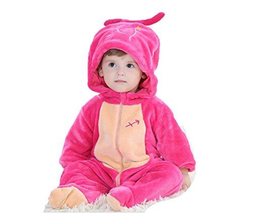 OHmais Bébé Fille garçon Unisexe Grenouillère Costume Deguisement Combinaison Pyjamas Hiver Sagittaire