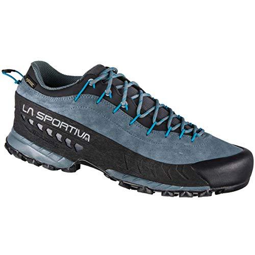LA SPORTIVA Herren TX4 GTX Trekking-& Wanderhalbschuhe, Mehrfarbig, Grau, Blau (Slate/Tropic Blue) 000, 42 EU