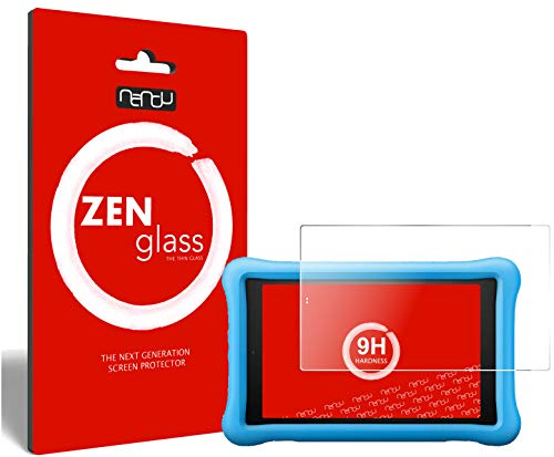 ZenGlass Flexible Glas-Folie kompatibel mit Amazon Fire HD 8 Kids Edition (2018) Panzerfolie I Bildschirm-Schutzfolie 9H