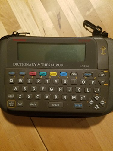 Franklin Bookman MWD 640 Electronic Dictionary Thesaurus