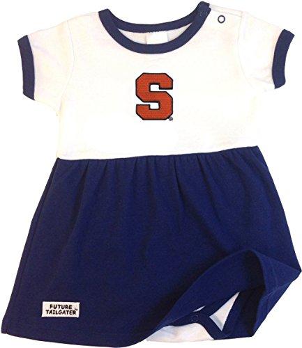 Future Tailgater Syracuse Orange Baby Onesie Dress (6-12 Months)