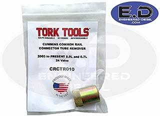 Tork Tek CRCTR010 Connector Tube (Feed Tube) Remover - for Cummins 5.9L & 6.7L 2003 - Present