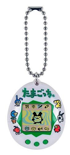 Tamagotchi Friends 42816 Original Tamagotchi Japanisches Logo – Füttern, Pflegen – Virtuelles Haustier mit Kette für unterwegs