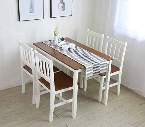 Tischgruppe mit 1 Tisch 4 Stühle Essgrupp Esstischset Sitzgruppe Esstischgruppe Esszimmergarnitur...