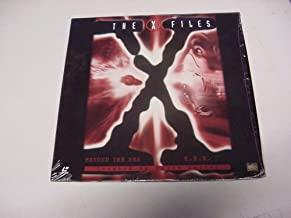 Laserdisc The X Files with 2 Uncut Episodes Beyond the Sea & E.B.E., By Chris Carter. David Duchovny & Gillian Anderson.