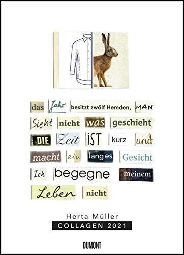 Herta Müller: Collagen 2021 – Poster-Kalender – Format 49,5 x 68,5 cm