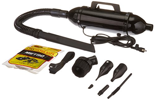 Steel Vacuum/Blower w/Accessories, 3 lbs, Black, Sold as 1 Each