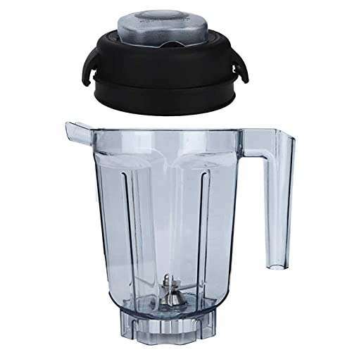 LKJHGFD RUNSHIBAIHUODIAN Transparent Food Blender Container With Blade Lid Replacement Accessories Fit For Blender Accessories