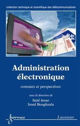 Administration électronique : constats et perspectives