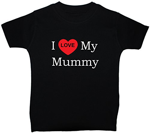 T-Shirts I Love My Mummy Baby/Children 0 à 5 ans - Bleu - Large