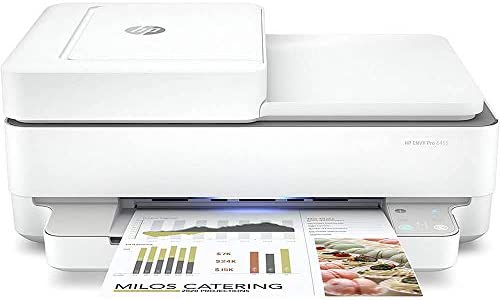 HP ENVY Pro 6455 Wireless All in One Printer Mobile Print Scan Copy Auto Document Feeder Works product image