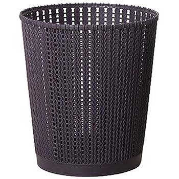 Ballylelly Cestino a rete circolare Cestino della carta straccia Lufficio pu/ò stirare Cestino della spazzatura a rete Cestino della carta straccia Cestino della spazzatura