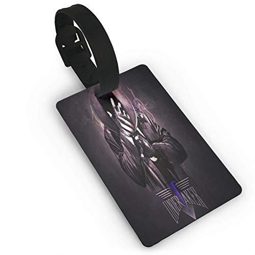 U-N-D-E-R-T-A-K-E-R PVC-Material Langlebige Busin-Kartengröße Lage Travel Tag Carry-On-Karten