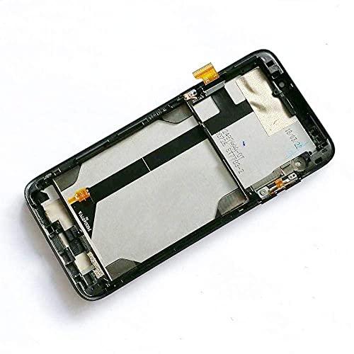 Kit de accesorios para Bluboo S8 Plus / S8 pantalla LCD táctil Sensor Asamblea con marco 100% probado trabajo S8Plus pantalla parte (color negro con marco) reemplazo