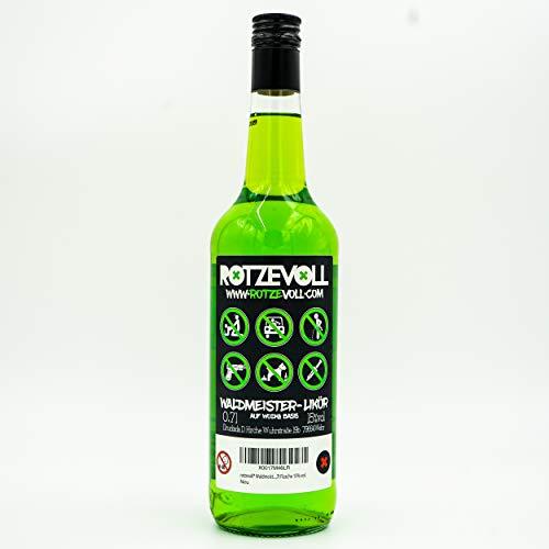 rotzevoll ® Waldmeister Likör auf Wodka Basis 0,7l Flasche 15% vol. rotze voll - 5