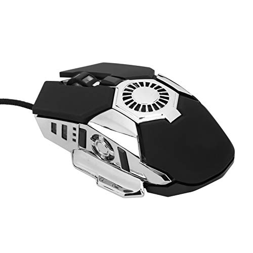 Comfortable HXSJ‑J700 Mice 6400dpi Mouse Gaming Mouse Colorful Sweat‑Proof Wired Mouse Anti‑Skid for Computer for PC